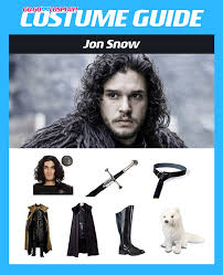jon snow got costume diy guide for cosplay