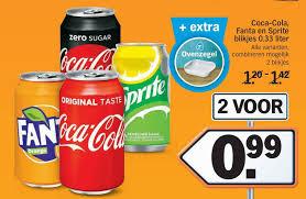 Coca-Cola tray aanbieding - Week Albert Heijn