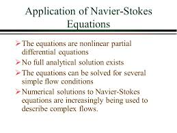 of navier stokes equations
