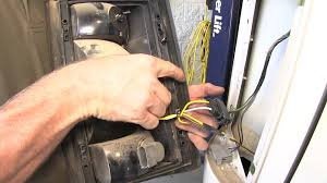 installation of a trailer wiring harness on a ford e van installation of a trailer wiring harness on a 2006 ford e 350 van etrailer com