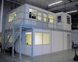 warehouse mezzanine modular office. simple mezzanine amfi modular office systems allow you to u201cgo upu201d when no longer have  the capability u201cspread or go outu201d we offer offices clean rooms  for warehouse mezzanine modular office