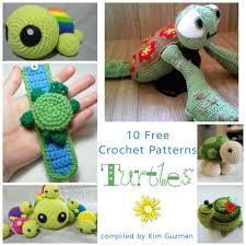 Free Crochet Turtle Pattern Beauteous Link Blast 48 Free Crochet Patterns For Turtles CrochetKim™