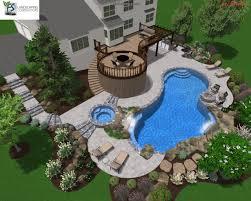 Swimming Pool Landscaping Designs Swimming Pool Landscape Designers Landscaping Company Nj Pa