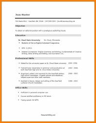 High School Resume Template No Work Experience High School Resume Template No Work Experience Resume Examples No