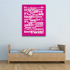 best friends reasons personalised wall art on personalised canvas wall art uk with best friends reasons personalised wall art canvas wall art print