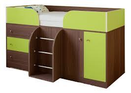 Купить <b>кровать</b>-<b>чердак РВ мебель Астра 5</b> дуб шамони ...