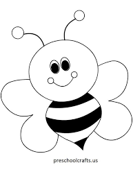 And, that is how this post came to life. Bee Coloring Pages Preschool And Kindergarten Bee Coloring Pages Art Drawings For Kids Bee Printables