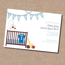 Baby Shower Invitations Captivating Sports Themed Baby Shower Baby Shower Invitations Sports Theme
