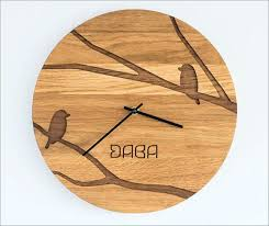 fun wall clocks b76490 custom engraved wooden wall clocks fun wall clocks uk