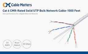 amazon com ul listed cable matters riser rated cmr cat 6 cat6 intended for wired home and office networks