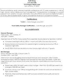 bar manager job description resume examples bar manager resume ideas samples database free orlandomoving co