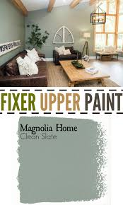 Paint Color Schemes Living Rooms Fixer Upper Living Room Paint Color Clean Slate Diy