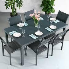 Ensemble Table à Manger Et Chaises Beatrice Gris Table Extensible