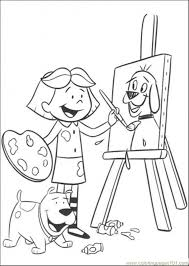 Paint Coloring Pages Free Painting Coloring Pages Paint Brush
