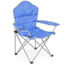 luxury padded folding cing chair heavy duty directors beach festival seat