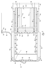patent us apparatus for opening hopper door google patent drawing