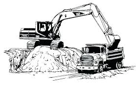 Construction Truck Coloring Pages Construction Trucks Coloring Pages