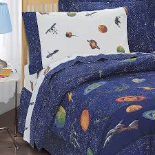 image of space bedding decorations