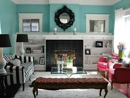 Teal Color Living Room Teal And White Room Ideas