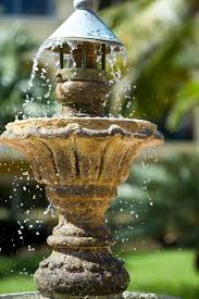 protect your outdoor fountain in winter so you can enjoy it again next summer