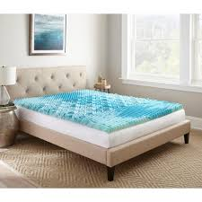 foam mattress pad. Queen Gellux Gel Memory Foam Mattress Topper Pad L