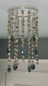 small magnetic chandelier crystals