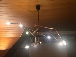 lamp lighting drop plumbing pipe