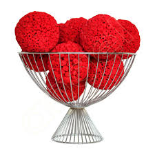Red Decorative Balls For Bowls Large Balls Click here for colours Red coffee tables Bowls 2