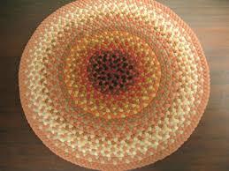handmade braided rugs by marge mazatlan a 4 round braided rug