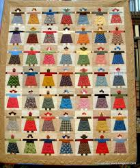 Moose Bay Muses: Paper Doll Quilt? Finished!! & I ... Adamdwight.com
