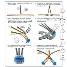 garden light 12v or 24v gel connector