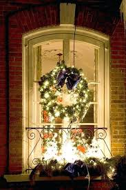 large lighted wreaths wreath with lights in window large outdoor lighted wreaths canada