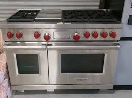 wolf double oven. Delighful Wolf Wolf Double Oven Range Demonstration Throughout