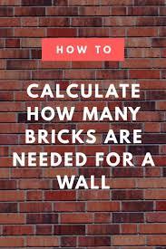Boral Brick Chart Brick Calculator Estimate The Bricks And Mortar Needed For