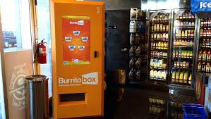 Burrito Vending Machine Gorgeous TODAY Tries The Burrito Vending Machine 'It Was Pretty Magical'
