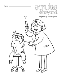 Small Picture Coloring Pages Scrubs and Beyond