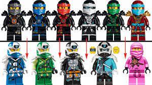 LEGO NINJAGO EVOLUTION Season 1-12 - YouTube