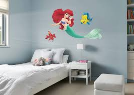 the little mermaid collection officially licensed disney removable wall decals fathead wall decal