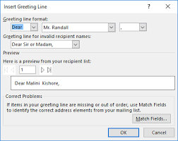How To Create Form Letters In Word