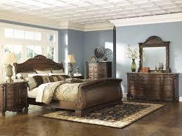 ashley porter bedroom set lovely ashley north s 5pc bedroom set e king sleigh bed dresser