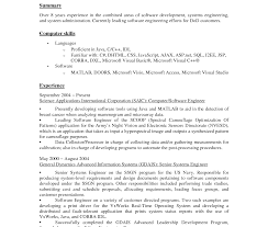 Dod Resume Template Excellent Resumemputer Skills Template Microsoft Office Suite 99