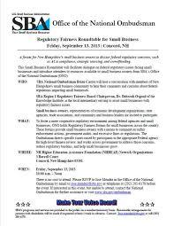 invitation to regulatory fairness hearing in nh on september 13 2016