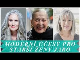 Moderní účesy Pro Starší ženy Jaro 2018 účesy A Střihy