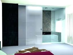 glass bathroom doors frosted door sliding for design ideas sydney