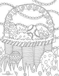 Small Picture Easter Coloring Pages Doodle Art Alley