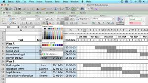 schedules template in excel how to use a monthly schedule in microsoft excel using ms excel