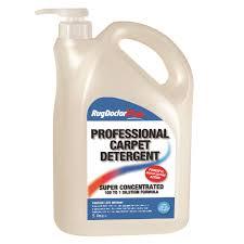 professional carpet detergent 5 litre 4 bottles per case rug doctor