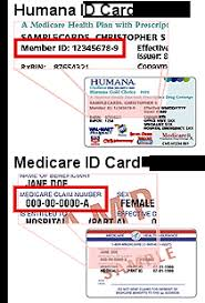 Humana offers insurance produce including humana medicare plans for both medicare supplement as well as medicare advantage plans. Print This Page Close Window Humana Guidance When You Need It Most Humana Id Card Examples Your Member Id Is Located On Your Humana Id Card Or If You Choose The Radio Button Next To Use Medicare Claim Number You Can Use The Number On
