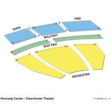 Kennedy Center Seating Chart Kennedy Center Eisenhower