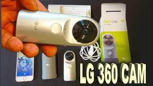 LG 360 CAM - For Android, iOS, Windows, MAC, PC. Unboxing, Set Up, Test. -  YouTube